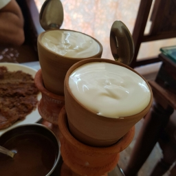 Lassi and Lucknow Kabab